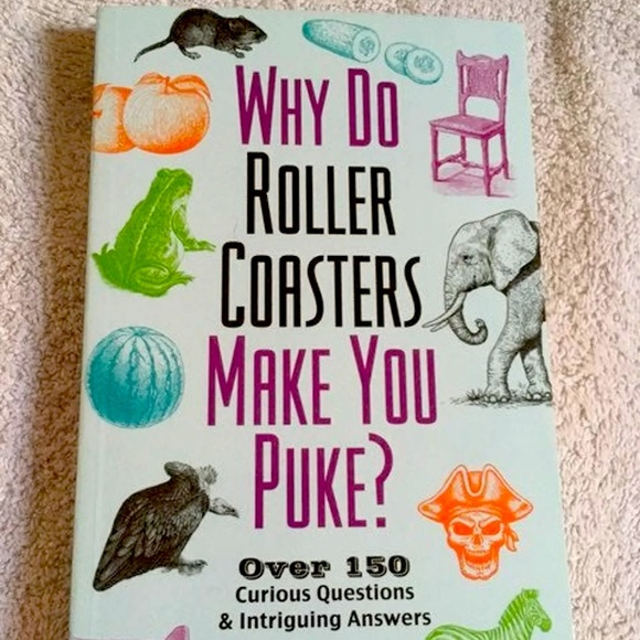 Why do rollercoaster make you puke?